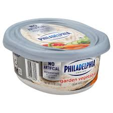 philadelphia light cream cheese spread kraft philadelphia garden vegetable cream cheese spread shop cream
