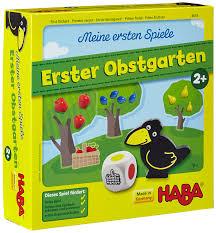 Haba Bad Rodach Haba 4655 Meine Ersten Spiele Erster Obstgarten Amazon De