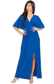 maxi dresses with sleeves front slit v neck maxi dress batwing gown
