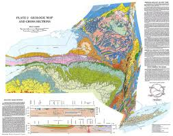 map new york state new york state geologic map new york state mappery