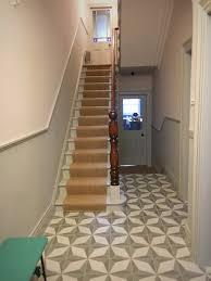 Sisal Stair Runner by Victorian Terrace Hallway Painted In Farrow U0026 Ball Lamp Room Grey