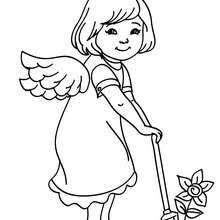angel color pages gabriel the angel coloring pages hellokids com