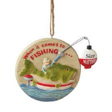 and fishing ornaments the mouse