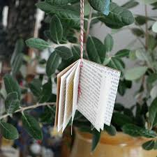 Christmas Book Ornaments - 45 best christmas and books images on pinterest book christmas