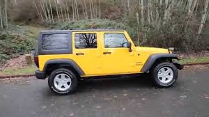 yellow jeep 2015 jeep wrangler unlimited sport yellow fl567916 redmond
