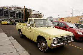 old parked cars 1972 ford courier