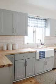 small kitchen grey cabinets our small kitchen remodel reveal on a budget with grey