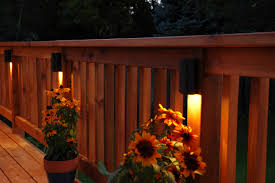 outdoor fence lighting ideas pretty small half fence with stunning lighting ideas tips to do the
