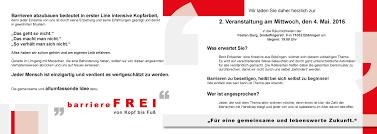 present your business barrierefrei von kopf bis fuss
