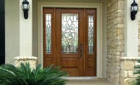 Exterior Front Entry Doors Front Entry Door Design Wood Exterior Front Doors With Sidelights