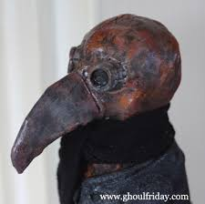 real plague doctor mask plague doctor lucky number three my ghoul friday