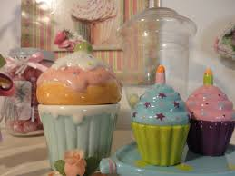 Cupcake Canisters For Kitchen Cupcake Kitchen Decor Accessories U2014 Peoples Furniture