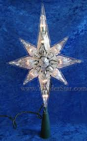 Star Christmas Tree Toppers Lighted - 11