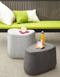 Patio Side Tables 12 Stylish Outdoor Furniture Finds Small Tables Concrete And Stools