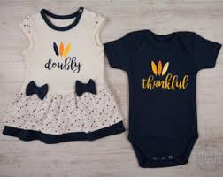 Thanksgiving Dresses For Infants Boy Twin Etsy