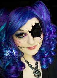 broken doll halloween makeup with tutorial by katiealves on deviantart