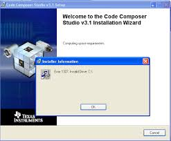error 1327 invalid drive while installing or updating resolved can t install code composer studio because windows