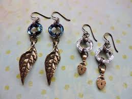 niobium earrings niobium earrings featuring swarovski cosmic rings rings