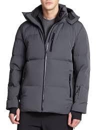 porsche design dress shoes porsche design down ski jacket in gray for men lyst