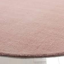 light pink wool rug safavieh hand woven himalaya light pink wool rug 6 round free