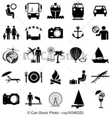 travel symbols images Collection flat icons travel symbols vector illustration vector jpg