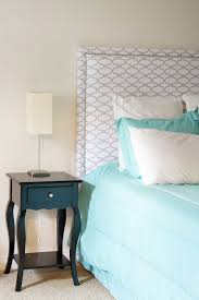 Diy Pillow Headboard Diy Fabric Headboard Jennifer Meyering
