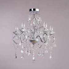 Chandelier Bathroom Lighting Nice Bathroom Chandeliers Crystal Vara 5 Light Bathroom Chandelier