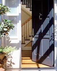 running into a glass door improving the bad feng shui direction of the front door