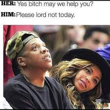 Beyonce And Jay Z Meme - this reminds me of sarah lmfao she about cut a bitch at the