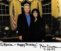 bill clinton and monica lewinsky were never far apart even after
