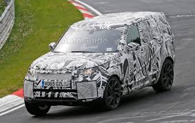 mitsubishi land rover 2017 land rover discovery hits the nurburgring interior spied