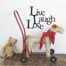 live laugh love vinyl wall sticker by oakdene designs live laugh love vinyl wall sticker