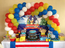 sonic party supplies sonic party theme sonic birthday ideas sonic