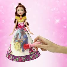 amazon disney princess belle u0027s magical story skirt toys u0026 games