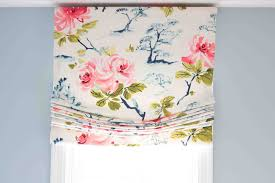 Instructions For Making A Roman Blind Diy Roman Shade Making A Roman Shade The Easy Way