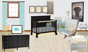 Poang Rocking Chair Nursery Neutral To Not So Neutral Nursery The Caldwell Project