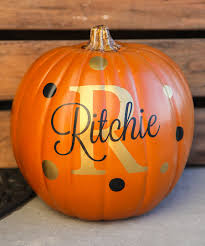 Halloween Pumpkin Cake Ideas Look At This Personalized Pumpkin Decal Set On Zulily Today