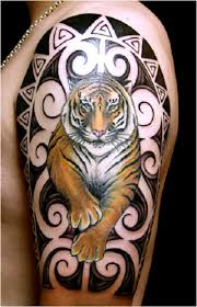 courage tattoos tiger and panther designs artist ideas