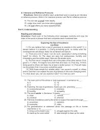 reflexive and intensive pronouns worksheet worksheets