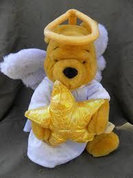new disney winnie the pooh angel christmas tree topper plush store