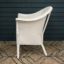 buy lloyd loom classic armchair snow white genuine lloyd loom