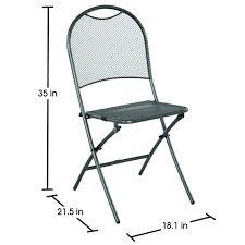 Folding Bistro Chairs Royal Garden Ludwig 3pc Patio Folding Bistro Set