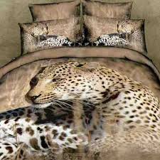 cheap leopard print bedding with free shipping worldwide grey