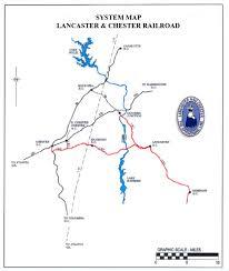 Lancaster Map L U0026c U2014 Gulf And Ohio Railways Inc