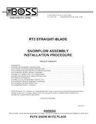 boss plow wiring diagram boss v plow joystick boss v plow