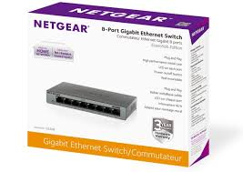 Home Network Design Switch Amazon Com Netgear Gs308 8 Port Gigabit Ethernet Home Switch