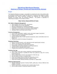 cover letter resume objectives for warehouse resume objectives for