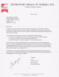 tcwc thank you letters from grant recipients