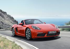 red porsche boxster 2017 behind the wheel of the 2017 porsche 718 boxster maxim