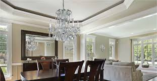 Dining Room Dazzlers Sparkling Crystal Dining Room Chandeliers - Crystal dining room